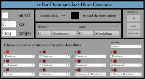 Jazz Blues - Generator