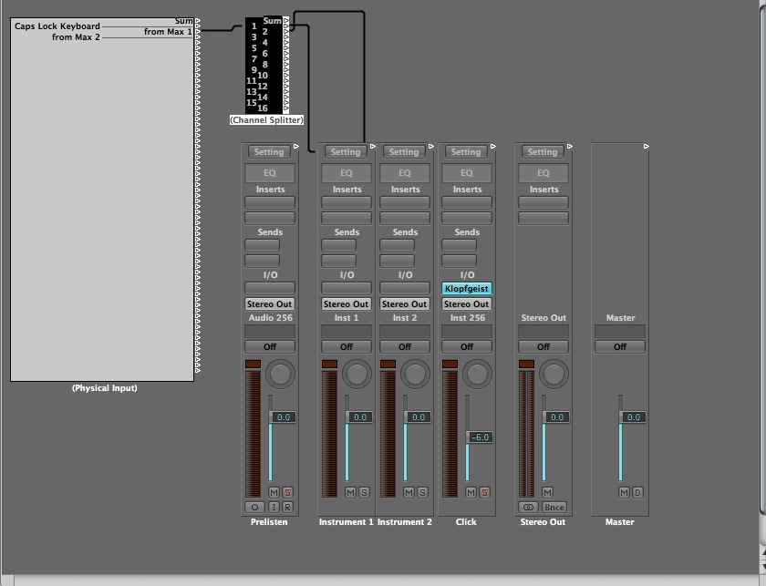 A Kings Mercury – How To Send MIDI From Max Msp To Logic