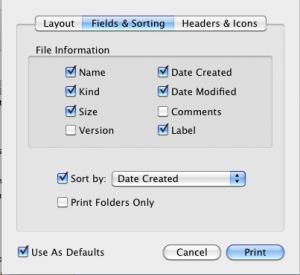 hard drive inventory print finder list